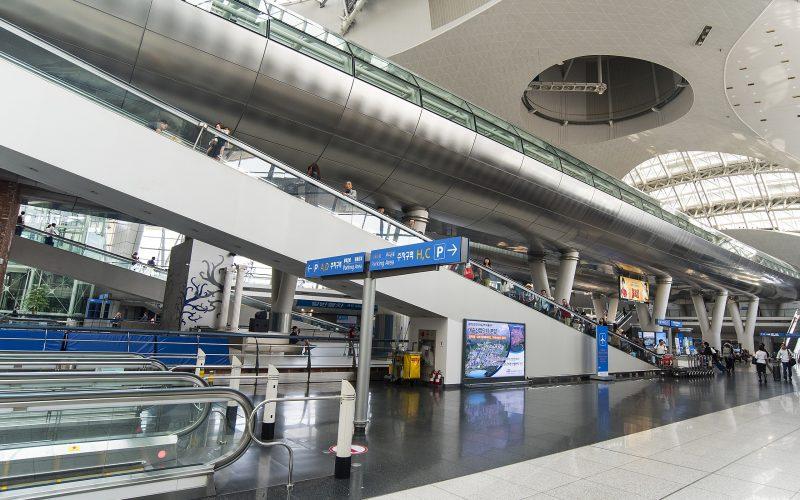 SEOUL - SEP 24: Incheon International Airport on September 24. 2