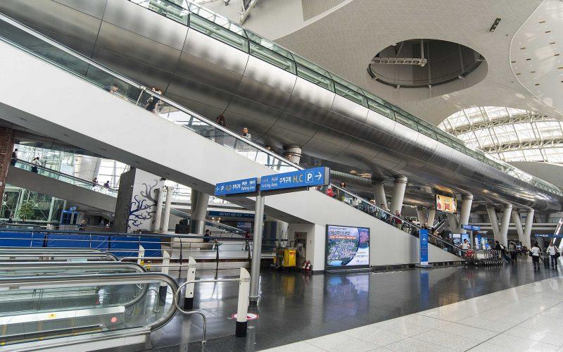 SEÚL - 24 de septiembre: Aeropuerto Internacional de Incheon el 24 de septiembre. 2